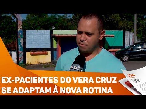Ex-pacientes do Vera Cruz se adaptam à nova rotina - TV SOROCABA/SBT