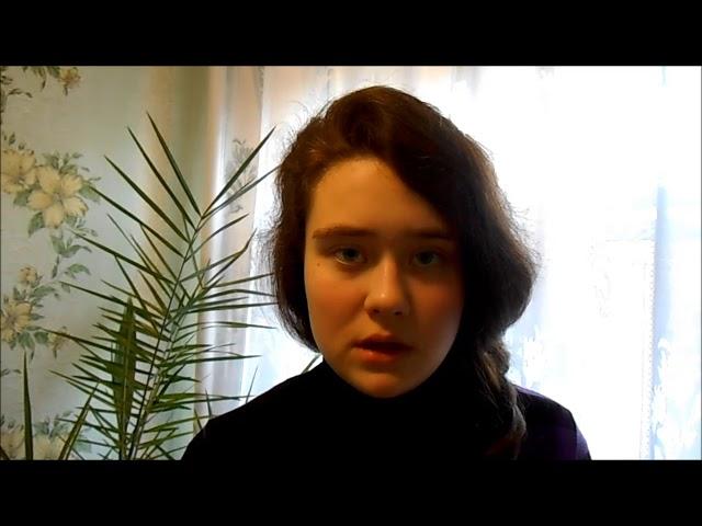Изображение предпросмотра прочтения – ЯнаСмирнова читает произведение «Мне нравится, что Вы больны не мной...» М.И.Цветаевой