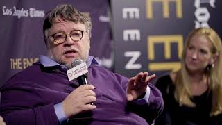 "The Envelope: ""The Shape of Water"" director Guillermo Del Toro and co-writer Vanessa Taylor"