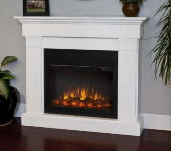 Crawford Slim White Electric Fireplace Review Yes It S Top Rated