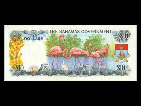All Bahamian Dollar Banknotes - 1965 Currency Notes Issue