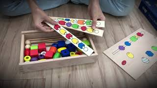 Download Video Education beaded wooden puzzle box MP3 3GP MP4