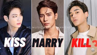 KISS MARRY KILL | MALE IDOL EDITION 2020 (VERY HARD)