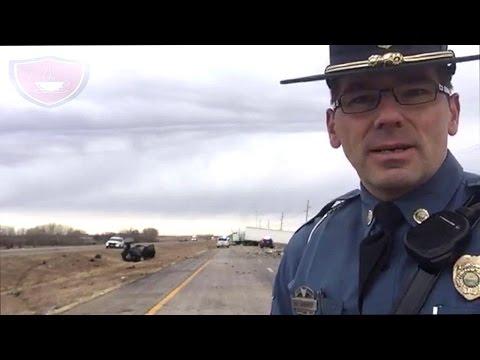 Fatal Crash In Salina Kansas Involving Tractor Trailer and Pickup Truck  Kansas Highway Patrol