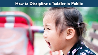 How to Discipline a Toddler in Public | CloudMom
