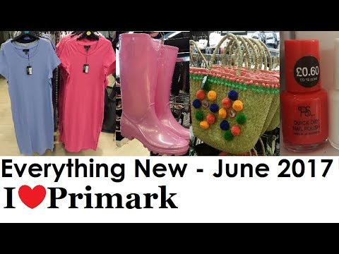 Everything new at Primark | June 2017 | I❤Primark