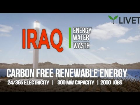 LIVET IRAQ ENERGY POWER ELECTRICITY ENVIRONMENT PROJECTS CLEAN GREEN FREE 2017