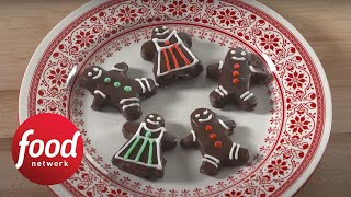 How to Make Gingerbread Truffle Men  Food Network