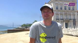 30 Португалия после карантина немецкий турист добрался до океана