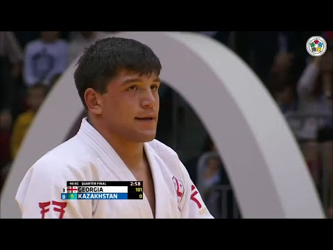 Georgia vs Kazakhstan - Quarter-Final - Judo World Championship Teams Chelyabinsk 2014
