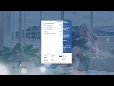 Understanding your bill | Aurora Energy