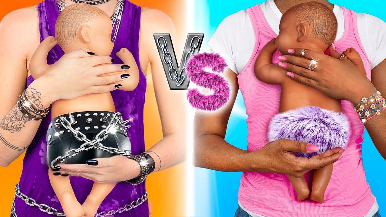 ¡Embarazada Rockera Versus Embarazada Dulce!