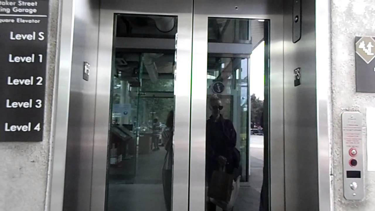 Thyssenkrupp Elevator At Whitaker Street Parking Garage Savannah Ga