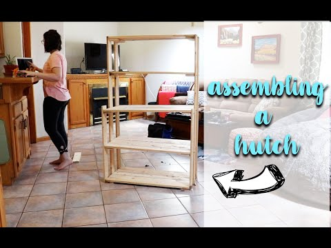 Assembling A Hutch *relaxing time lapse*