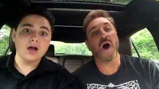 Dad/Son Car of Rock Lip Sync to Grease