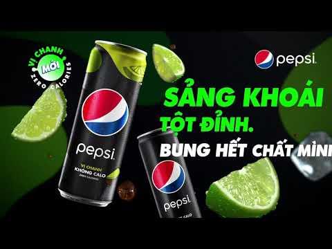 Quảng Cáo Pepsi Vị Chanh