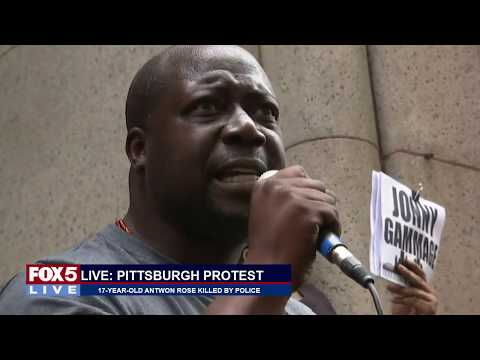 FOX 5 LIVE (6/21): Protests in East Pittsburgh ensue after 17-year old boy fatally shot by police