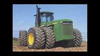 Biggest Custom Tractors - From USA, best silage tractors in world [2014]