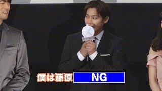俳優の伊藤英明が10日、新宿ピカデリーで行われた映画『22年目の告白−私...