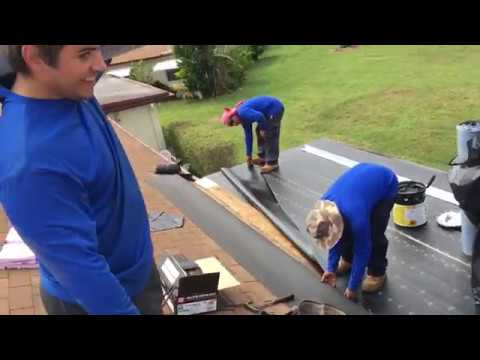 How To Remove Repair And Install A Flat Roof Youtube