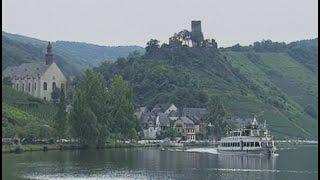 Mosel, Germany: Mosel River and Burg Eltz Castle