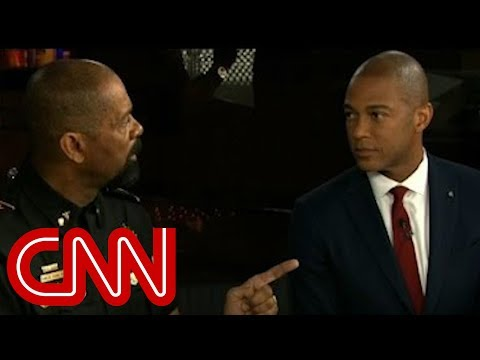David Clarke and Don Lemon's heated exchange on police shootings