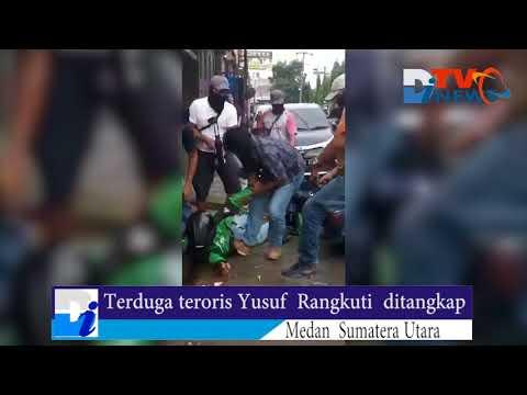 Beredar Video Penangkapan Seorang Terduga Teroris Di Medan