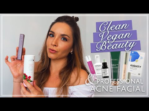 current-clean-vegan-beauty-favs-&-pandemic-skincare-|-blue-light-therapy-for-acne