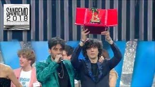 Ermal Meta e Fabrizio Moro vincono a Sanremo