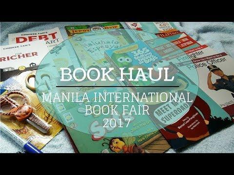 Book Haul! Manila Int'l Book Fair 2017