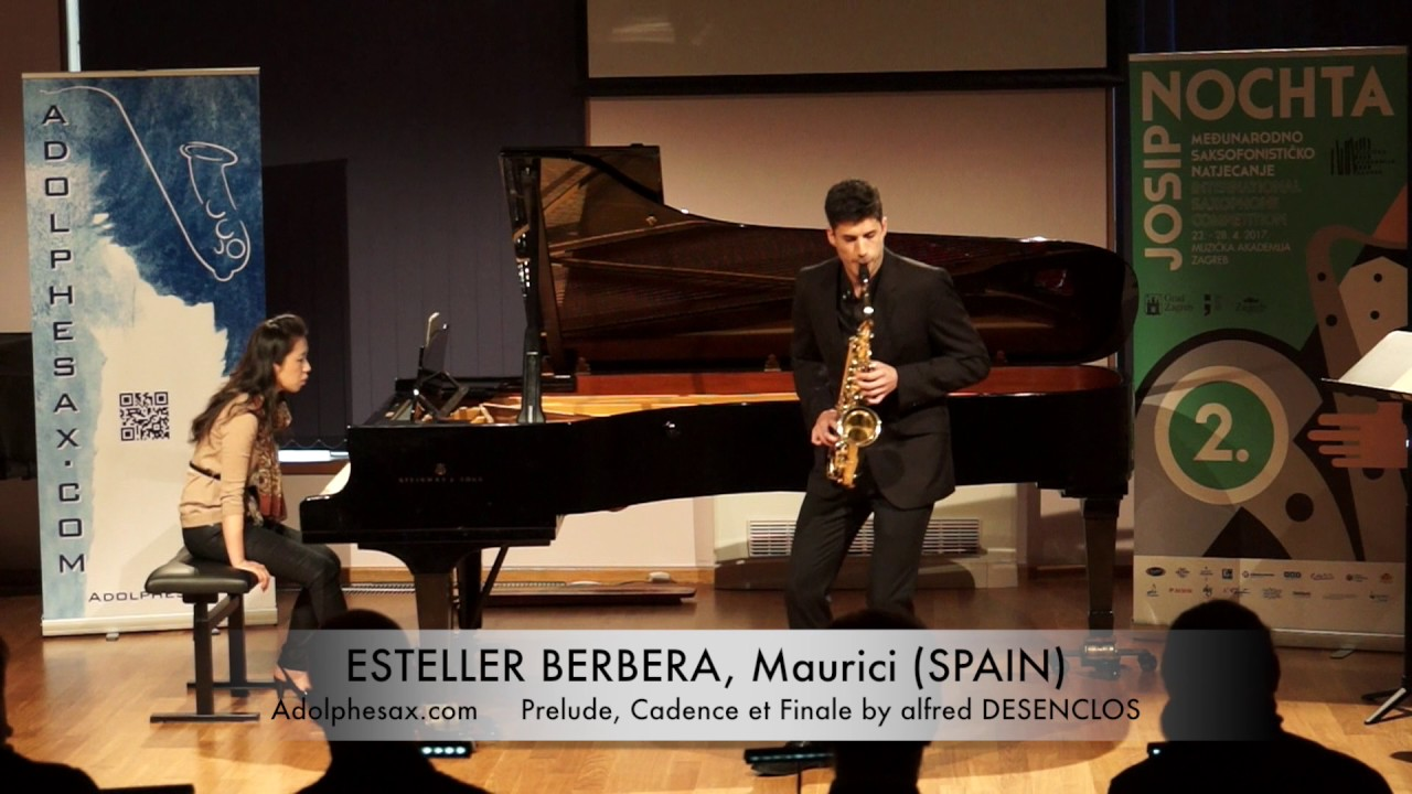 Prelude, Cadence et Finale (Alfred Desenclos) – ESTELLER BARBERA, Maurici (Spain)