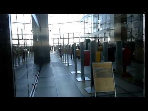 Post Tower Bonn - Elevator Video in HD (Aufzug)