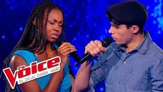 Michel Berger – Seras-tu là ? | Lilian Renaud VS Nina | The Voice France 2015 | Battle