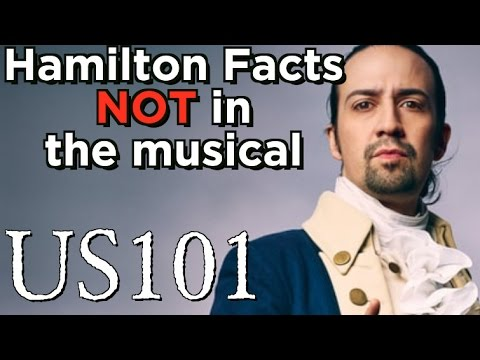 Alexander Hamilton Facts That Aren't In 'Hamilton' - US 101