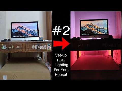 How To Set-up Professional RGB Lighting For Your House In Tamil! #TopTuckerGadgets2