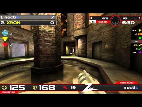 Q3God's Quake Live Qualifier #3 - noctis vs xron