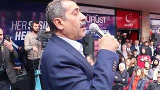 """Saadet Partisi adayı Ünsal, """"Belediyeyi, halkımızla birlikte yöneteceğiz"""""""