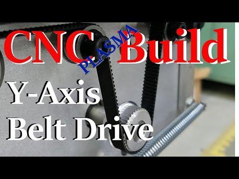 DIY CNC Plasma Table - Y Axis Belts