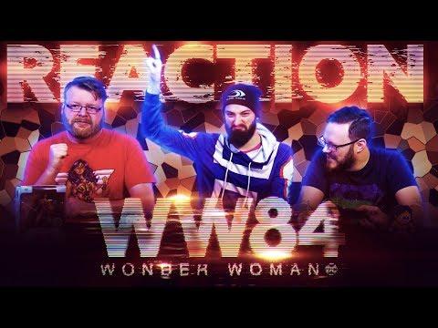 Wonder Woman 1984 – Official Trailer REACTION!!