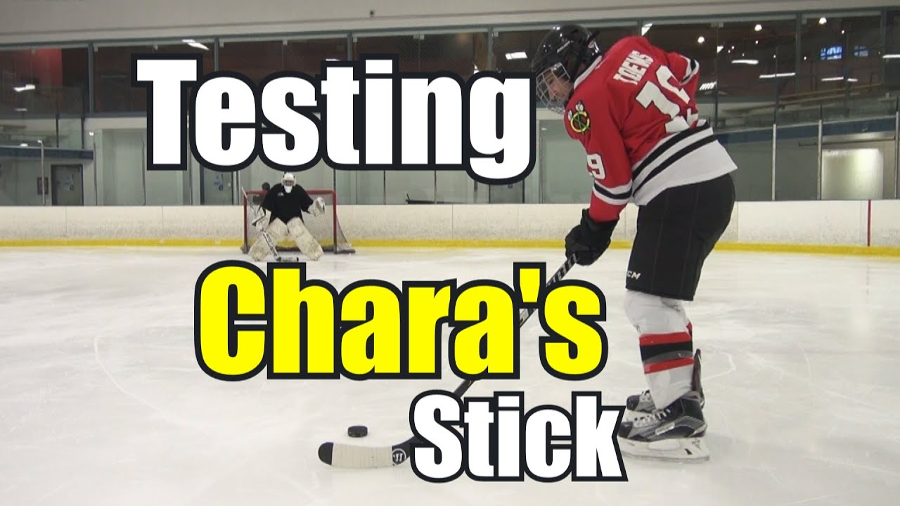 Beer Leaguers try using Chara's Stick