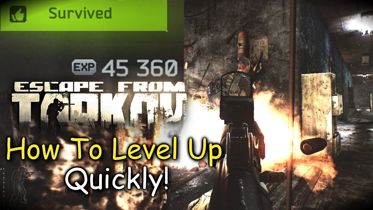 How To Level Up Quickly Escape From Tarkov