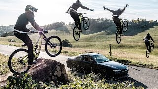 How To BUILD and SEND a MTB ROADGAP   Ride Life Romance Behind The Scenes 2