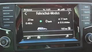 VW Golf 7 - Fahrschulmodus bei Composition Touch / Media / Colour aktivieren mit VCDS