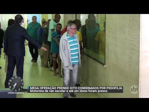 Polícia prende nove acusados de pedofilia em São Paulo | Primeiro Impacto (09/11/17)