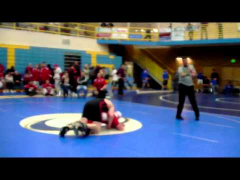 Bobcat Brawl 2012 | Bountiful High School Wrestling vs Highland High School Idaho | 220 Pounds