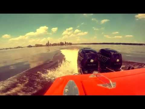 Mercury Racing Verado 400R Test - SUNUS Ocean Racing