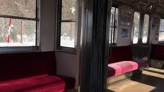 意外と揺れる 弘南鉄道 大鰐線 7000系 宿川原~大鰐 乗車動画