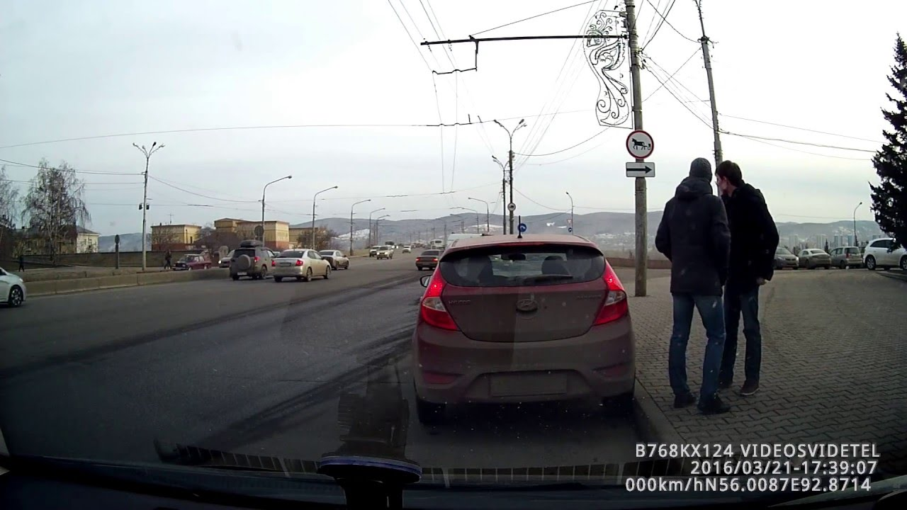 На Коробова Форд не пропустил скорую