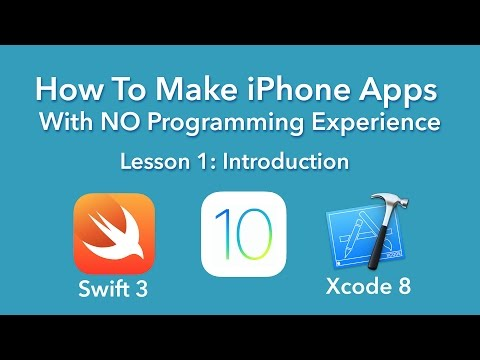 How To Make an App  Ep 1  Introduction Xcode 8, Swift 3, iOS 10