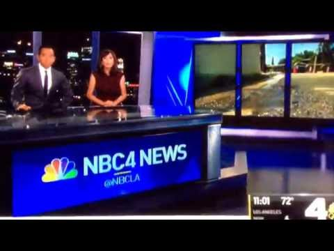 KNBC NBC 4 News at 11pm Sunday cold open July 31, 2016